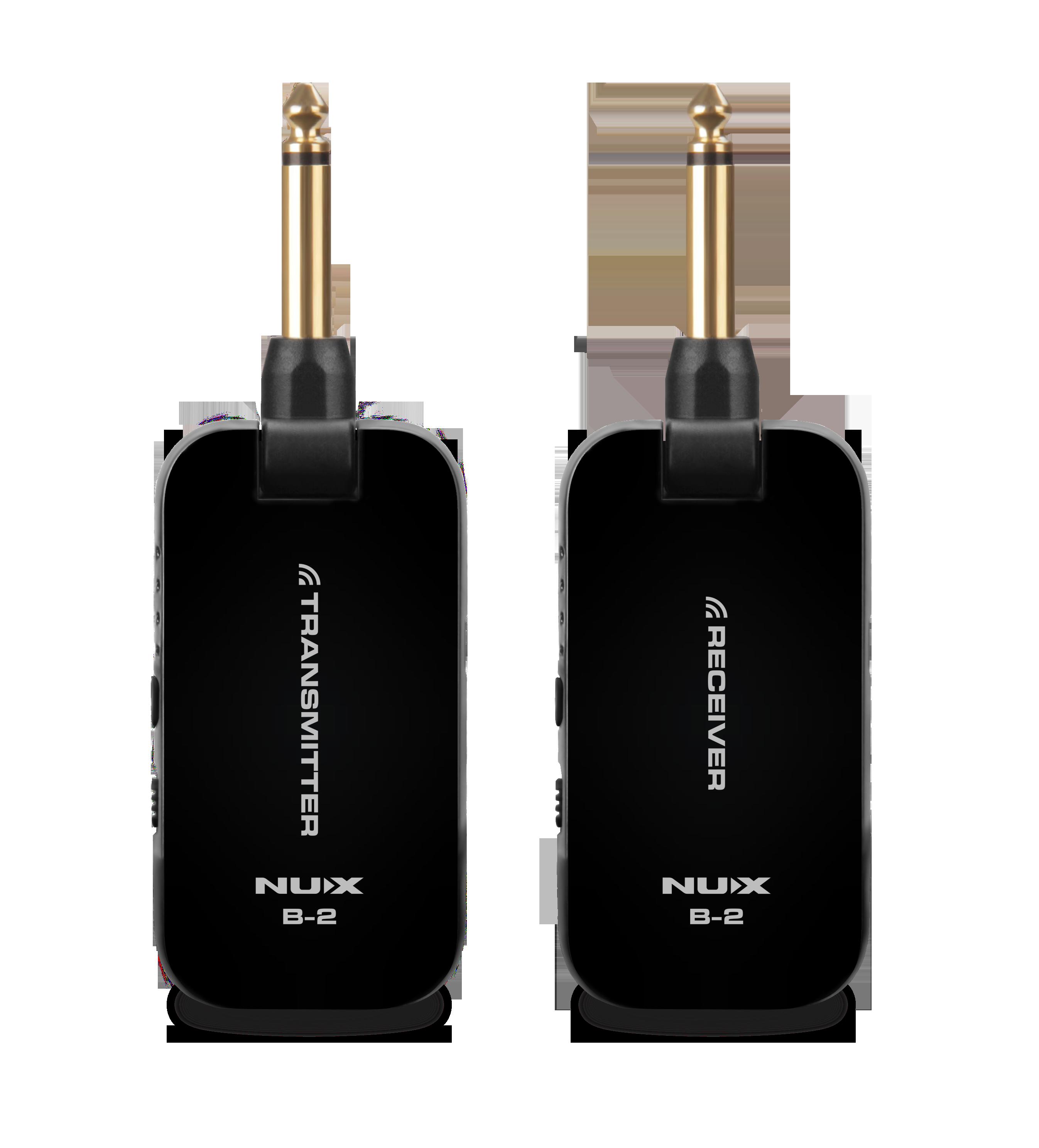 NUX B2 Wireless System 無線導線系統(黑)