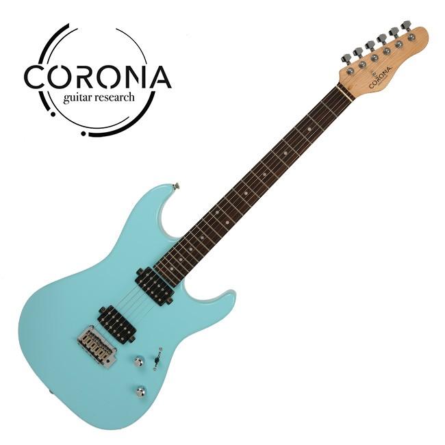 CORONA Modern Standard M22F/L DHB 雙雙22格 玫瑰木指板 海豚藍