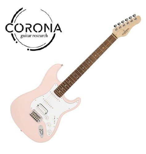 CORONA Traditional Standard ST S22F/L SHP 單單雙 玫瑰木指板 貝殼粉紅
