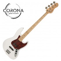 CORONA Traditional Standard Jazz Bass J20F/M OWT  楓木指板 奧林匹克白