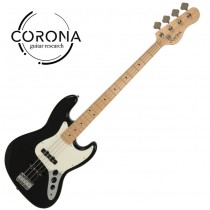 CORONA Traditional Standard Jazz Bass J20F/M BLK 楓木指板 黑色