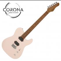 Corona Modern Plus T T24 SHP TELE24格烤楓木指板 貝殼粉紅