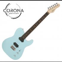Corona Modern Standard T T22F/L DHB TELE雙雙22格 玫瑰木指板 海豚藍