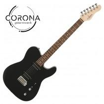 Corona Modern Standard T T22F/L BLK TELE雙雙22格 玫瑰木指板 黑色