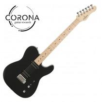 Corona Modern Standard T T22F/M BLK  TELE雙雙22格 楓木指板 黑色