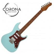 Corona Modern Plus SE24 DHB ST 24格烤楓木指板 海豚藍