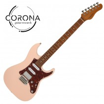 Corona Modern Plus SE24 SHP ST 24格烤楓木指板  貝殼粉紅